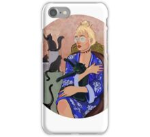 Cat Lady Chic iPhone Case/Skin