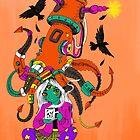 Mecha Squid Hat by Marta Tesoro