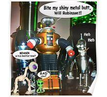 Misbehaving Robots Poster