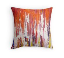Flaming Hot  Throw Pillow