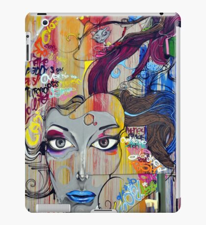Colorful Graffiti Street Art iPad Case/Skin