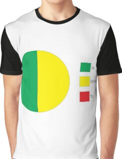 Do Or Do Not, There is No Try Pie Chart Graphic T-Shirt