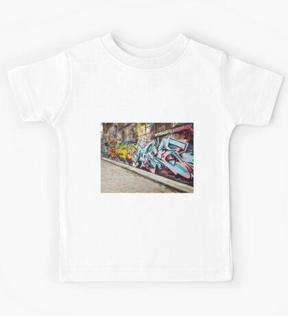Melbourne Graffiti  Kids Tee