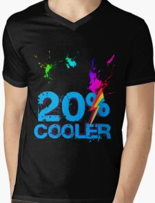Quotes and quips - 20% cooler Mens V-Neck T-Shirt