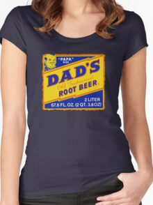 DAD'S ROOT BEER Women's Fitted Scoop T-Shirt