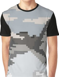 Snowy Mountains Graphic T-Shirt
