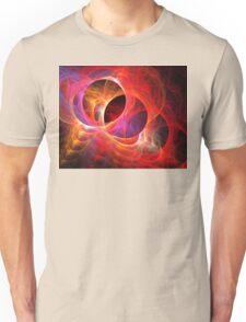 Warm Sun Orbs Unisex T-Shirt
