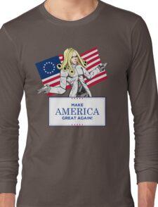 Make America Dojyaaa~~n Again! Long Sleeve T-Shirt