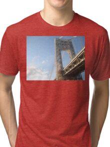 George Washington Bridge Tri-blend T-Shirt