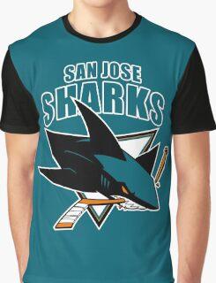 San Jose Sharks Graphic T-Shirt