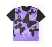 Butterfly Shadows Graphic T-Shirt