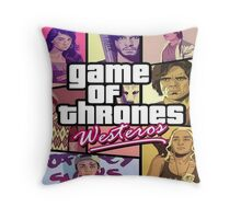 GOT  GTA Throw Pillow