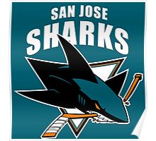 Sharks On Fire Poster