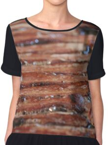 Sizzle Abstract Chiffon Top