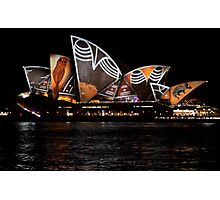 Vivid 2016 Opera House 18 Photographic Print
