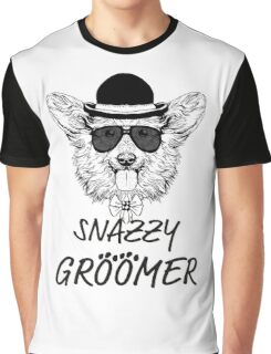 Snazzy Groomer Graphic T-Shirt