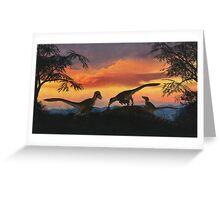 Dakotaraptor Greeting Card