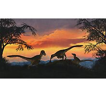 Dakotaraptor Photographic Print