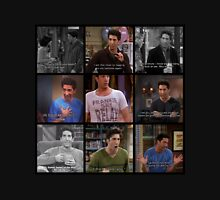 Ross Geller Quotes Collage #1 Unisex T-Shirt