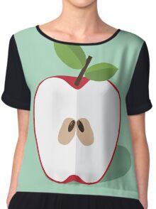 Half an apple. Chiffon Top