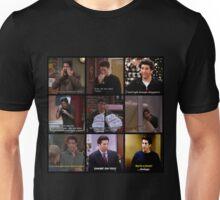 Ross Geller Quotes Collage #2 Unisex T-Shirt