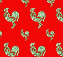 Saucy Rooster Sticker