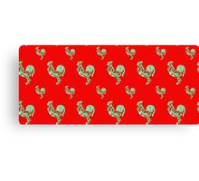 Saucy Rooster Canvas Print