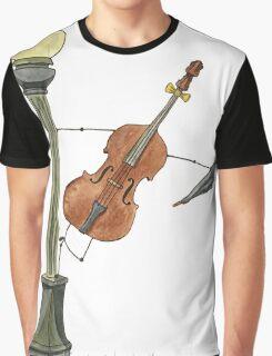 Bassy in the Rain Graphic T-Shirt