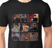 Ross Geller Quotes Collage #3 Unisex T-Shirt