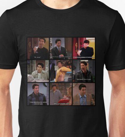 Ross Geller Quotes Collage #3 Unisex T-Shirt