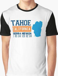 Lake Tahoe. Graphic T-Shirt