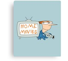 Home Movies Canvas Print