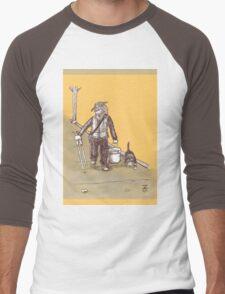 Litter Meditation Men's Baseball ¾ T-Shirt