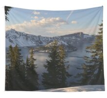 Crater Lake - Spring Wall Tapestry