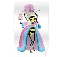 Queen Bee - Marie Antoinette Poster