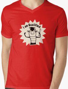 I am Qualified Mens V-Neck T-Shirt