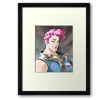 Zarya Portrait Framed Print