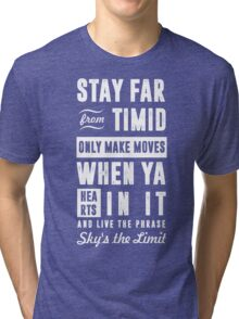 SKY'S THE LIMIT  Tri-blend T-Shirt
