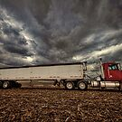 Grain Truck by Steve Baird