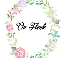 On fleek by Lindsay Fulda