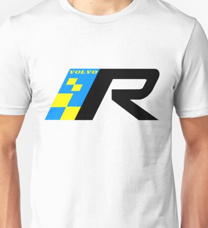 Volvo R Design Racing Graphic BLK2 Unisex T-Shirt