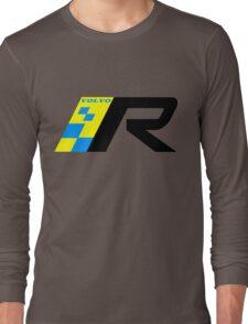 Volvo R Design Racing Graphic BLK Long Sleeve T-Shirt