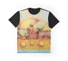 rainbow elephant blessing Graphic T-Shirt