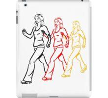 walking go female sport iPad Case/Skin