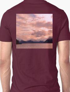 Rose Quartz Over Hope Valley Unisex T-Shirt