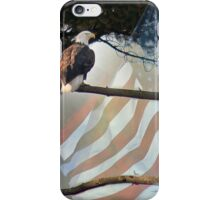 Free -  Bald Eagle Photograph, Digital Art iPhone Case/Skin