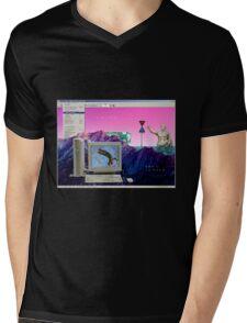 Vaporheck Mens V-Neck T-Shirt