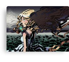 The Ocean - Inked Canvas Print