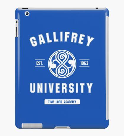 Gallifrey University iPad Case/Skin