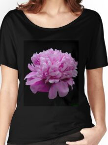 My Blooming Pink Peony Women's Relaxed Fit T-Shirt